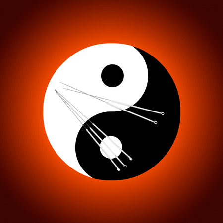 surgical needle: Acupuncture needles and a symbolical background  the yin-yang