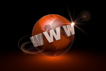 webhost: Globalization. International communication system. New information technologies. Available in high-resolution and several sizes to fit the needs of your project. 3D illustration rendering. Stock Photo