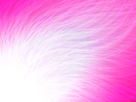 Abstract wave radiation. Pink Wallpaper