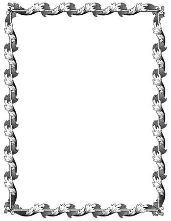 Renascence frame Stock Vector - 8182468
