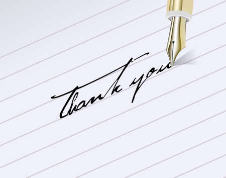 writing letter: BronzeThank You!