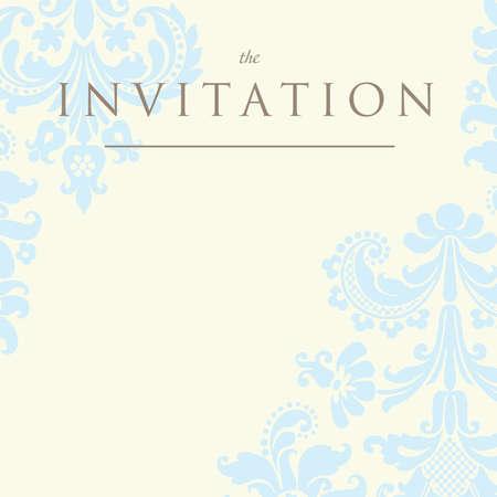 화려한 다 배경입니다. 결혼식이나 공지 사항에 대한 초대장