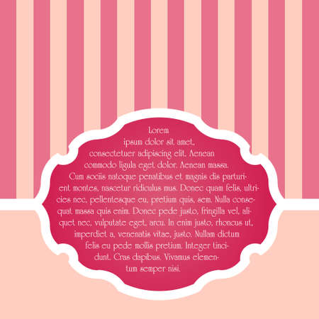 Elegant Invitation to the wedding or announcements Vectores