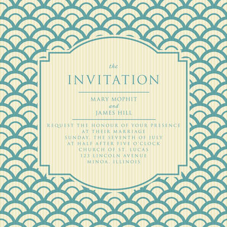 Wedding invitations and announcements Vector