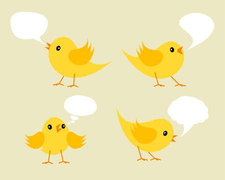 easter chick: Vector Illustration