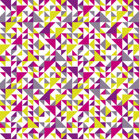 Seamless geometric pattern with triangle  Can be used in textiles, for book design, website background Stock Vector - 17773166