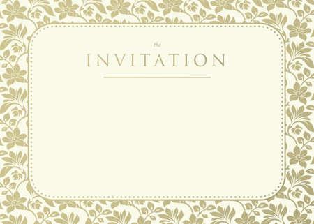 결혼식이나 공지 사항에 화려한 다 배경 초대