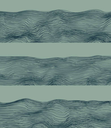 River abstract fringes  Line-art  Abstract background