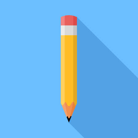 Pencil icon Illustration