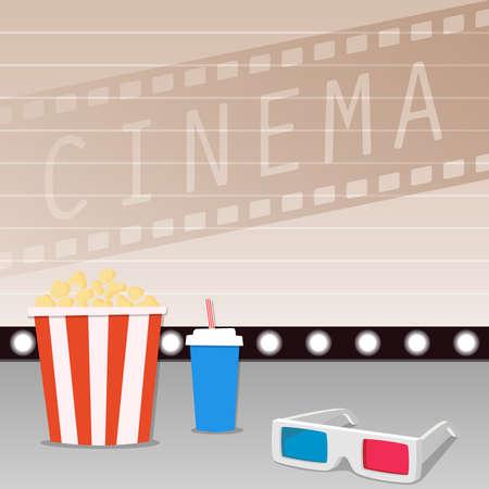 cinematographer: Movie time Illustration