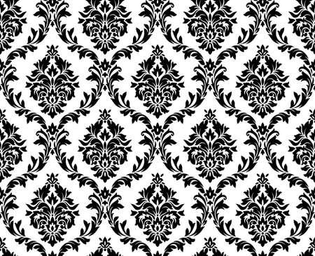 papel tapiz: modelo del damasco sin fisuras.
