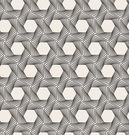 optical illusion: Vector abstract seamless background. Line pattern. Optical illusion