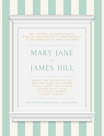 moldings: Invitation to the wedding or announcements. Vector vintage frame moldings on rich background in damask style
