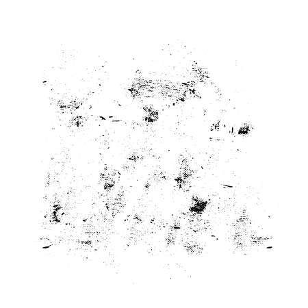 Black and white vector grunge texture. For creating grunge illustrations. Abstract background. Hand drawn. Texture background Ilustração