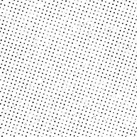 Grunge de medios tonos patrón de impresión de fondo. Ilustración vectorial