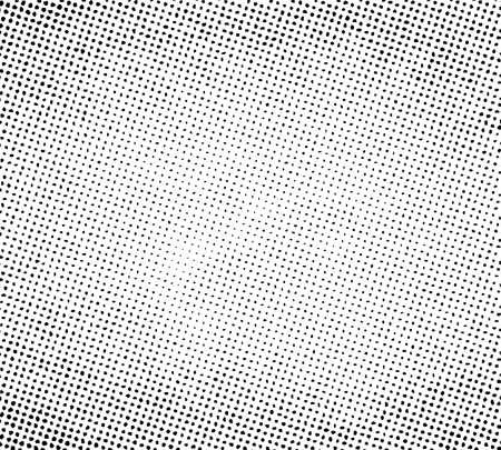 Grunge halftone print pattern background. Vector illustration