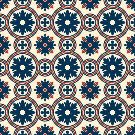 Abstracte naadloze sier vector patroon. Renaissance decoratief behang. Uitstekende achtergrond