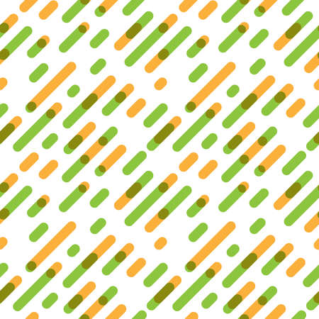 overlap: Seamless Pattern Overlap Diagonal Graphic Stripes with Round Corners. Vector illustration Illustration