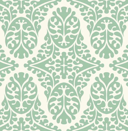 ornate background: Vector seamless damask pattern. Ornate vintage background Illustration