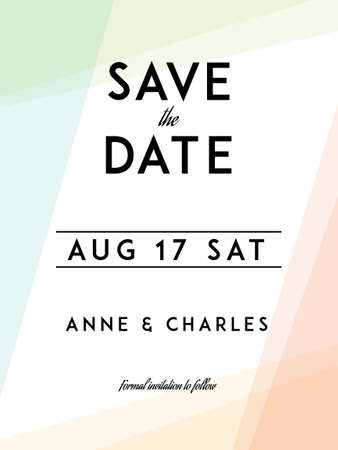 Wedding Save The Date Templates Free | Modern Wedding Save The Date Template Modern Design Save The