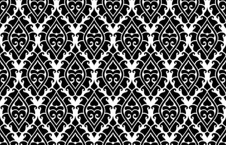 Vector seamless damask pattern. Rich ornament, old Damascus style pattern for wallpapers, textile, Scrapbooking etc. Ilustrace