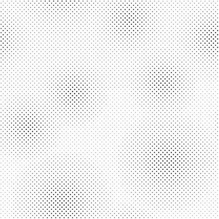 Black and White Dots, Halftone effect. Seamless Pattern for comic, Grunge, Pop-art backgrounds - Vector