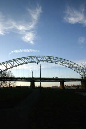 mersey: Bridge Over the Mersey at Runcorn