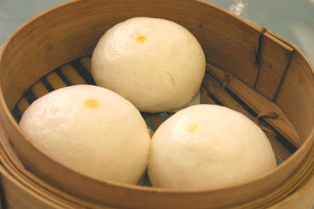Chinese Egg Buns Stock Photo - 288159