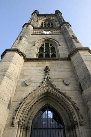 bombed: Bombed Out Liverpool Church Steeple