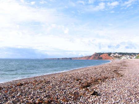 stoney: Stoney Beach in South Devon
