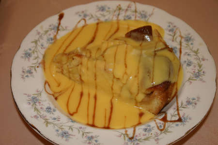 flan: Dutch Apple Flan