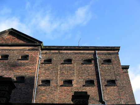 Historic Main Bridewell Prison Building in Liverpool England Stock Photo - 358888