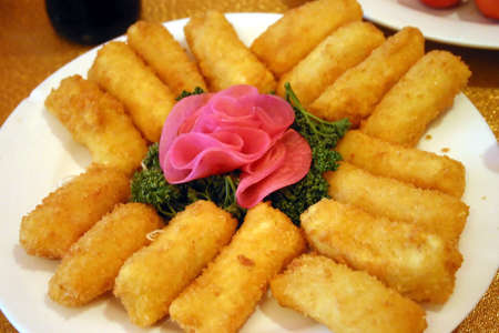 consume: Chinese Mixed Seafood Croquettes
