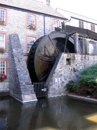 Water Wheel in Devon photo