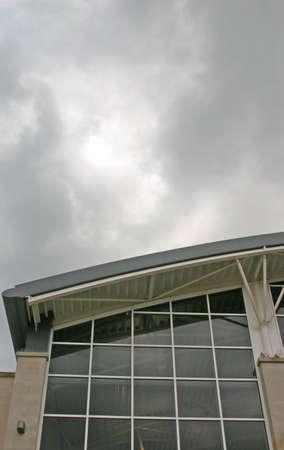 Modern Building in Kendal Cumbria UK photo