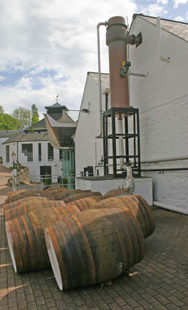 scot: Whiskey Distillery in Scotland UK