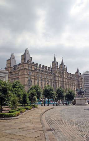 liverpool: Majestic Lime Street Hotel in Liverpool England Stock Photo