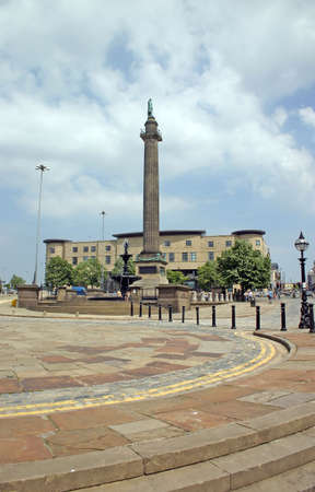 monumental: Majestic Buildings and Monumental Column in Liverpool England