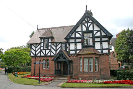 northwest: Old House in Chester England