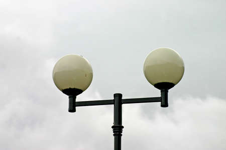 Two Street Lamps Stock Photo - 558633