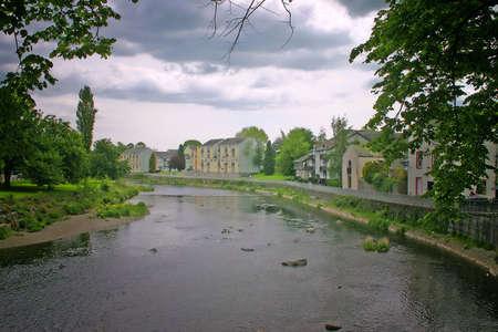 Beautiful River in Kendal Cumbria UK photo