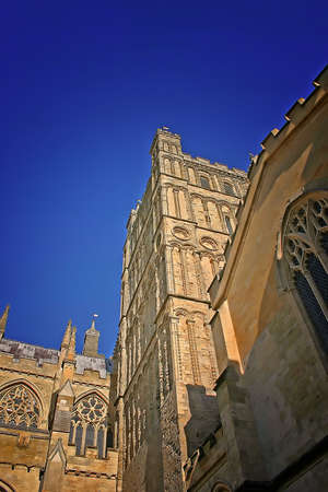 Exeter Cathedral Devon, England UK in Summer photo
