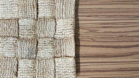 Woven & laminate wood texture