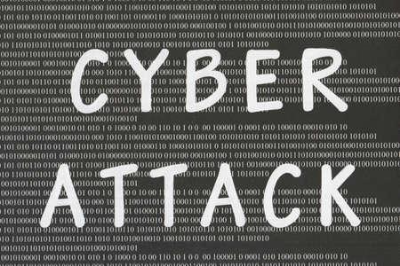 attacker: Cyber attack Stock Photo