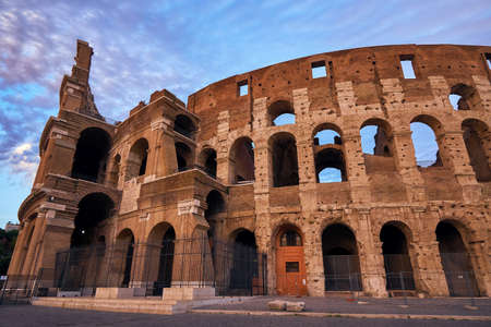 Colosseum gladiator arena famous ancient history roman