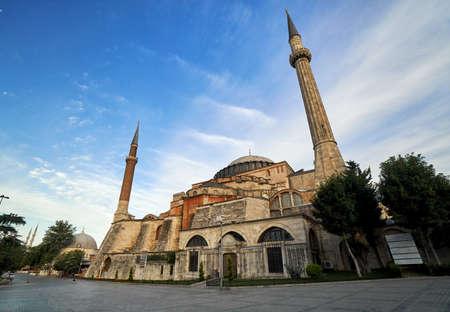 Hagia Sophia mosque famous travel religion landmark Islam Turkish architecture building