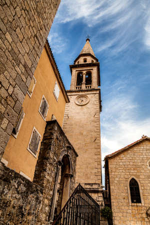 Montenegro Budva old town center architecture tourism travel destination