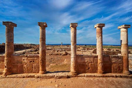 Greek civilization archeology culture  historic marble building facade landmark