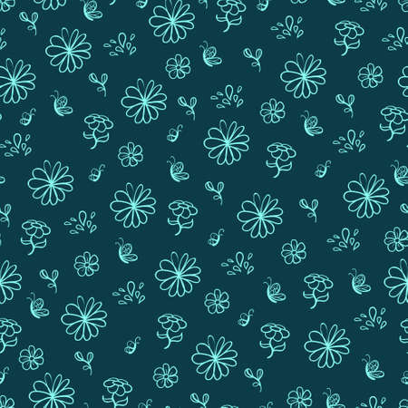 Seamless floral pattern Stock Vector - 22071284