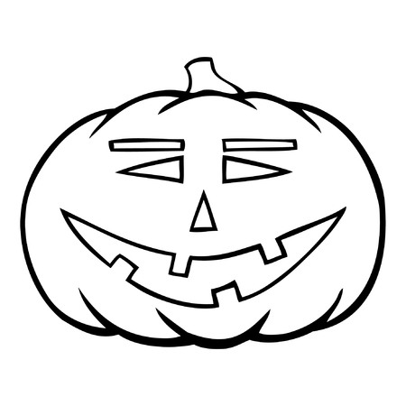 Hand Drawn Jack O Lantern Royalty Free Cliparts Vectors And Stock